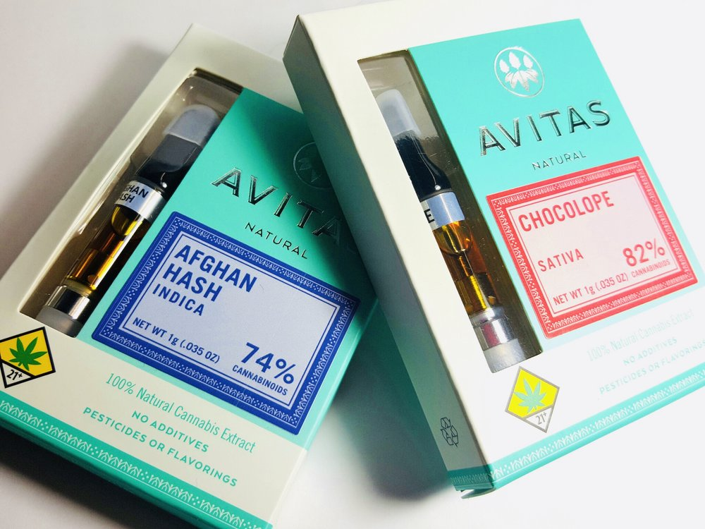 Avitas Cartridges Ganja Goddess Seattle