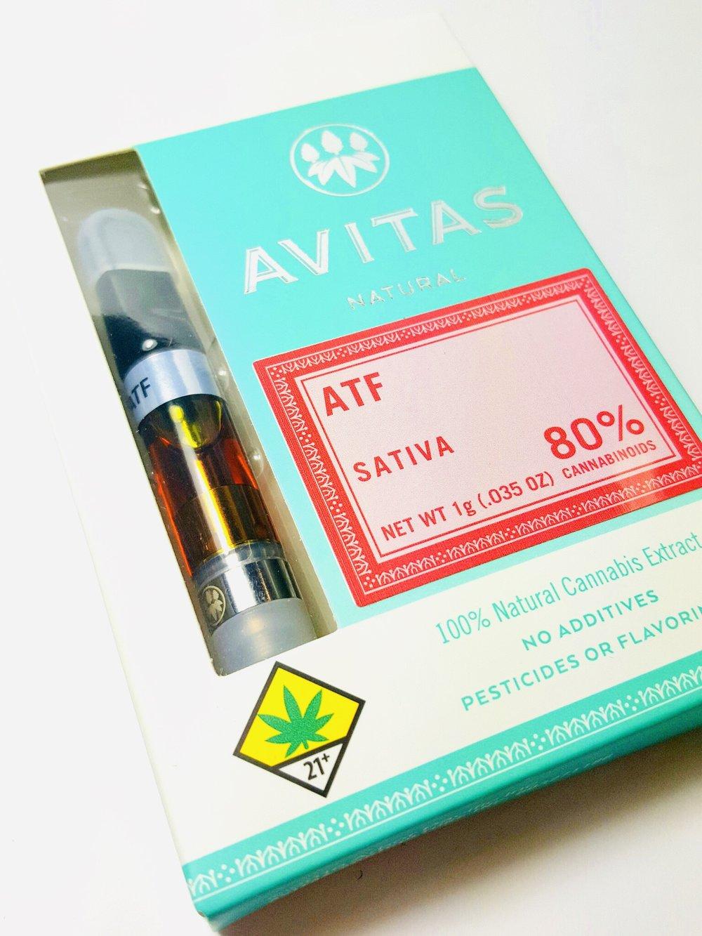 Avitas ATF Sativa Cartridge Ganja Goddess Seattle