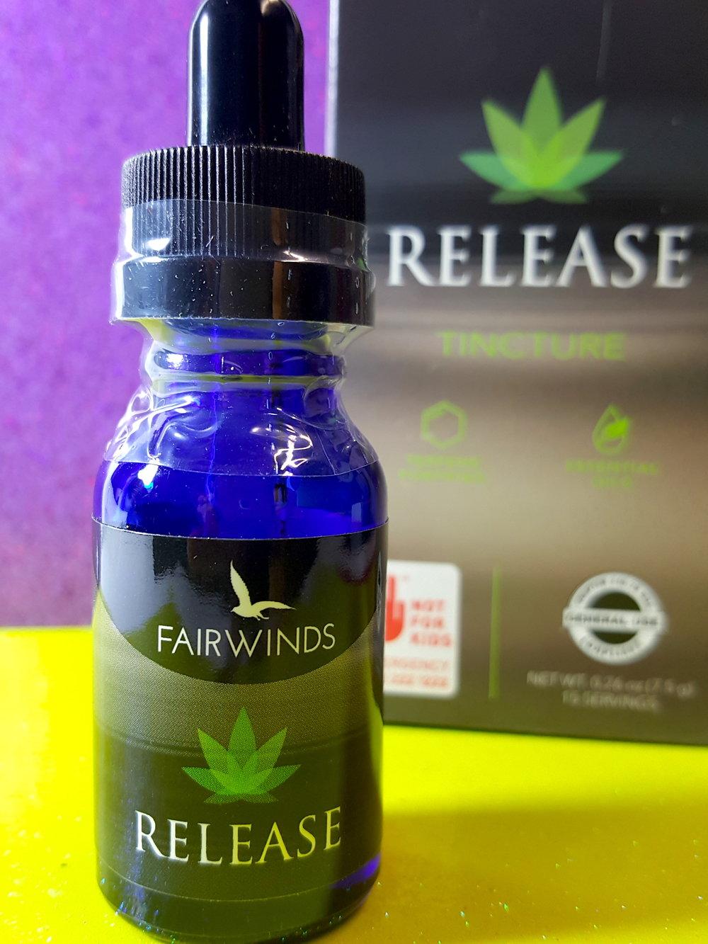 Fairwinds Cannabis Release Anti-Anxiety Tincture Ganja Goddess