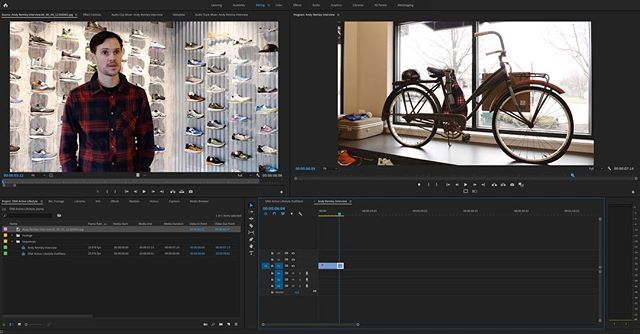 First client of 2019 @dna.plainfield video for their new retail store in Downtown Plainfield.  @pacc_plainfield  #videographer #smallbusinessowner #shoplocal #smallbusiness #wylerstudios #runningshoes #activelifestyle