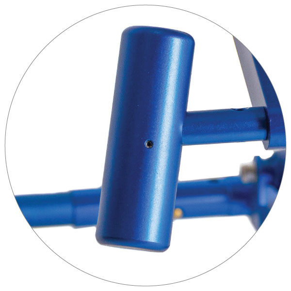 BedBike ergonomic pedals
