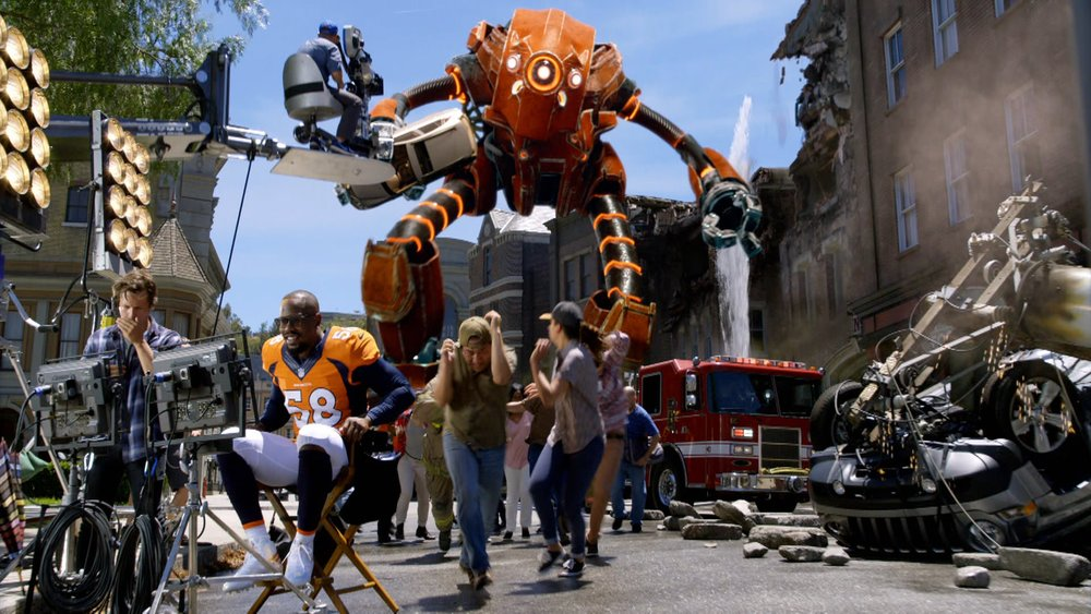 Sunday Night Football - Biggest Stage     Art Director - VFX Supervisor
