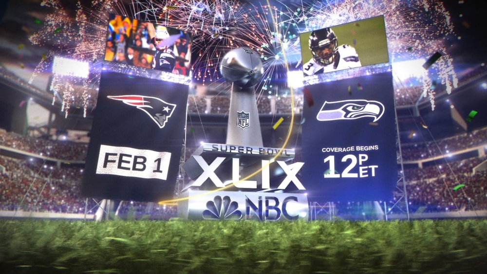 Super Bowl XLIX    Art Director - Producer