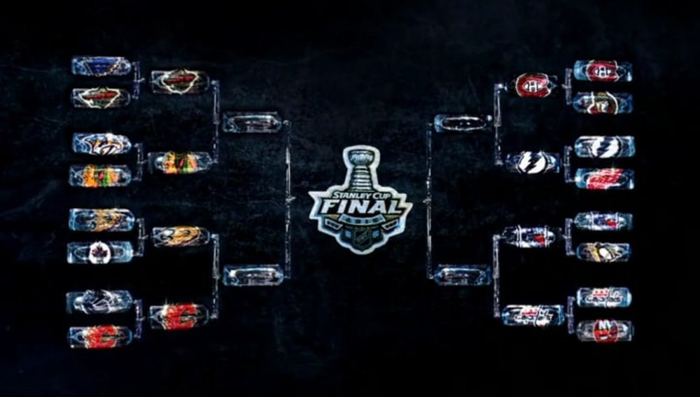 NHL Stanley Cup Playoffs - Ice Bracket    Design Director