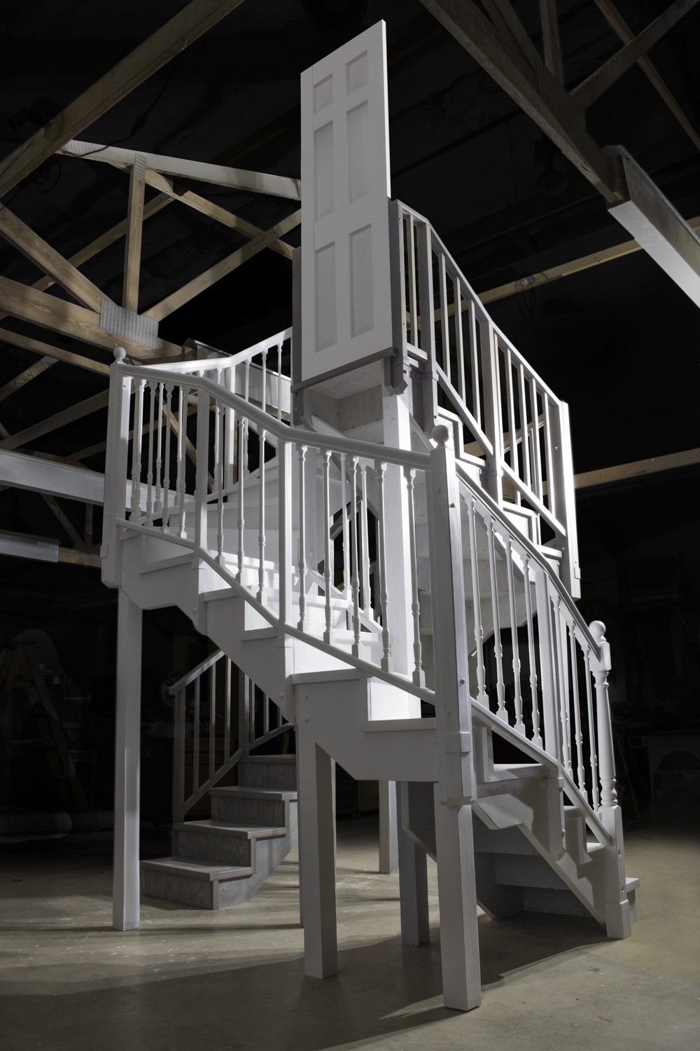 In Progess, Untitled Stairs