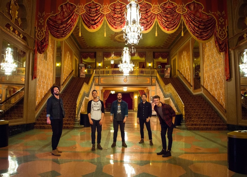 in the lobby of the Tennessee Theatre, Knoxville, TN - Photo by Meara McDonald