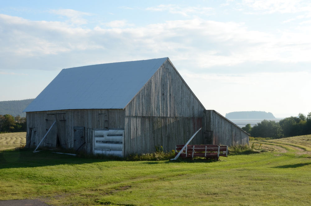 Fundy Barn    digital  2012