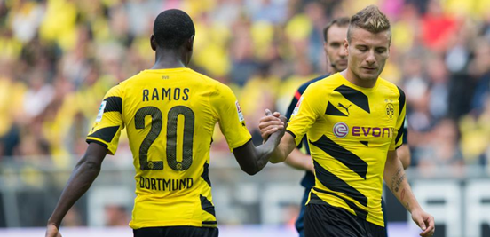 Adrián Ramos and Ciro Immobile have had difficult starts in their time at Borussia Dortmund so far.