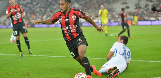 Having Amavi run with the ball at his feet has been a regular sight for Nice fans this season.