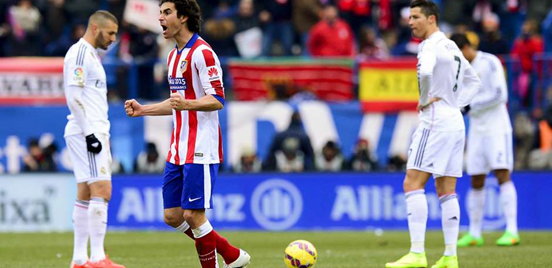 Atlético have had by far the better of things in the six matches which they've already played against Real Madrid this season.