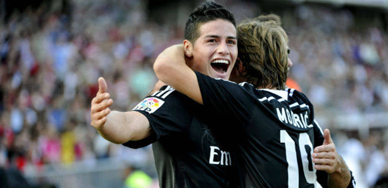 The recent returns of James Rodríguez and Luka Modrićto the side have helped to inspire a recovery from Real Madrid's previously poor form.