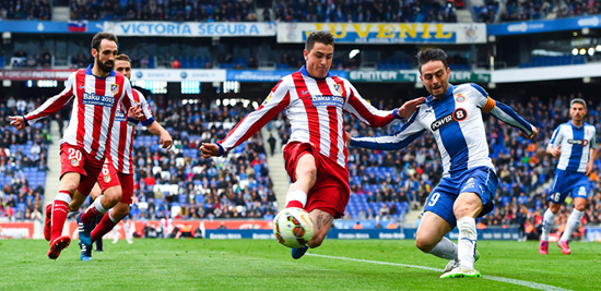 Giménez had a brilliant breakthrough season for Atlético in 2014/15, helping to establish his reputation one of the brightest young centre-backs around.