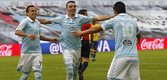 Orellana (left), Aspas (middle) and Nolito (right) have been electric in the opening stages of the season, and they're likely to be the key when it comes to Celta's challenge for European qualification.