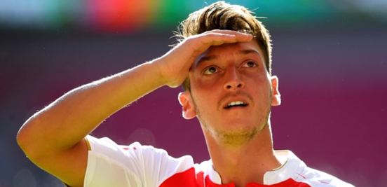 Things have only been going up for Özil in his career lately (*insert some kind of spotting a player making a good run joke here*).