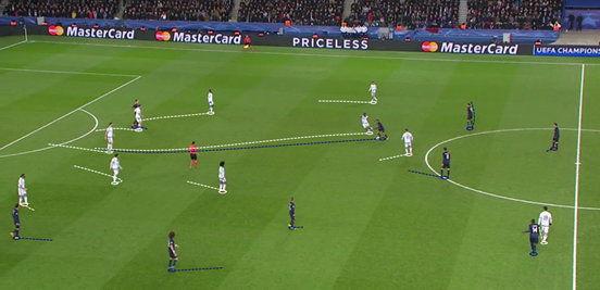 Chelsea's midfield regularly lacked proper compactness, and Lucas' run straight through the middle of it (before being fouled by Mikel) in the build-up to the opening goal of the game demonstrated that.