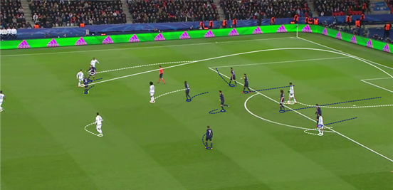 Chelsea's best chance from open play was created by their left-back, Baba Rahman, when he was passed the ball by Hazard and put in a wonderful first-time cross towards Costa in the middle.