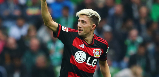 Kampl's had to wave goodbye to playing for a while, unfortunately, but for the most part he's had a season to smile about at Leverkusen.