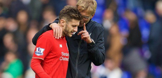 Jürgen Klopp has shown a lot of faith in Lallana since taking the Liverpool job, and the English midfielder's performances have warranted a lot of praise in recent times.