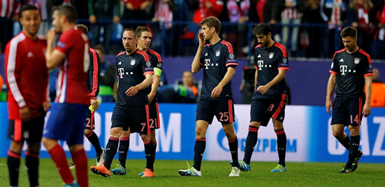 Bayern's final bit of Champions League disappointment under Guardiola came against Atleti, where overall they dominated the tie but were unfortunate not to go through.