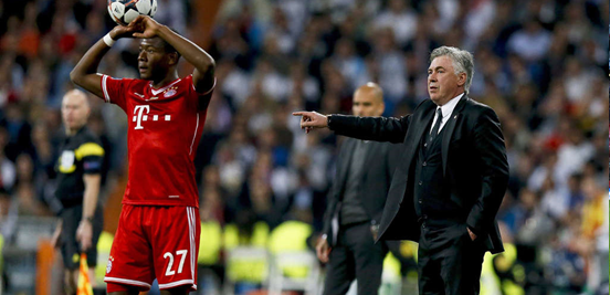 Carlo Ancelotti was the manager that knocked Bayern out of Europe in 2013/14, and he's also Guardiola's replacement in Munich - where he'll get to manage the very talented Alaba.