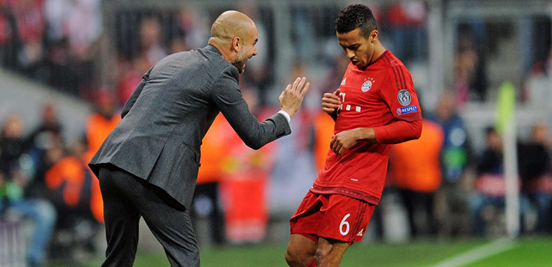 Thiago is one of the many players that have improved under Guardiola's management, first of all while the two were in Barcelona together and now while they've been at Bayern.