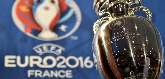 The trophy that 24 of Europe's best will be playing for in France over the next month or so.
