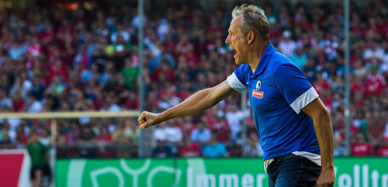 Christian Streich, a coach at the club since 1995 and even a player for them before then, is a much-loved figure at Freiburg.