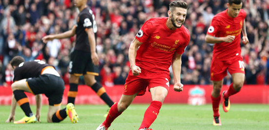 Lallana has been one of Liverpool's most important players so far this season.