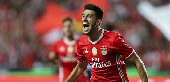 Pizzi is without doubt one of Benfica's key men in midfield, and he'll hope to be in a celebratory mood by the end of the second leg in Germany.
