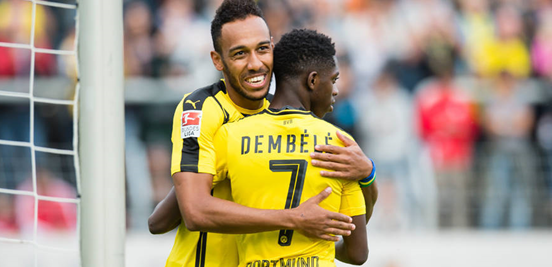 Aubameyang and Dembélé have been in very impressive form this year for Dortmund and Benfica's defence, however good it may be, will be put to the test by them.