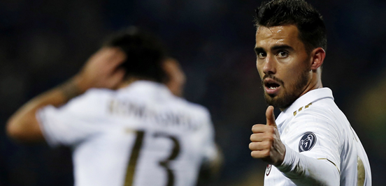 Suso deserves a big thumbs up for his performances throughout this season.