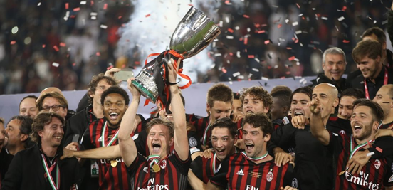 Milan won their first trophy since 2011 in December, securing a positive end to 2016, although things have gone a bit downhill for them since then.