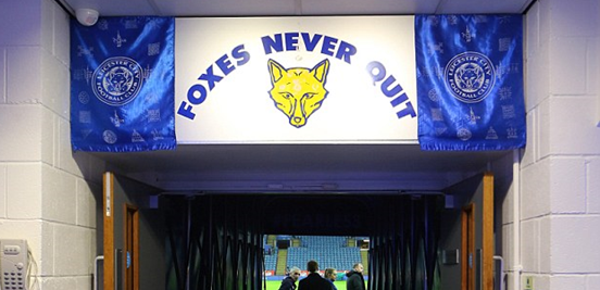 'Foxes Never Quit' – a phrase that Leicester's players will very much need to believe in if they're to have any chance of progressing any further in the Champions League.