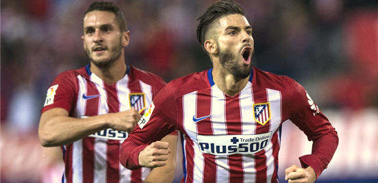 Likely to be the two wide midfielders, Koke and Carrasco are presumably going to play an important part at the King Power Stadium if Atleti manage to progress,