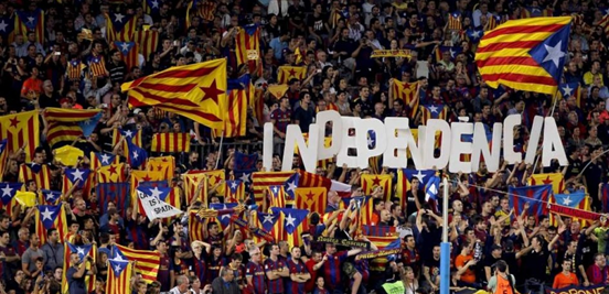 Independencia - still a sensitive and very important topic to the Catalan people.