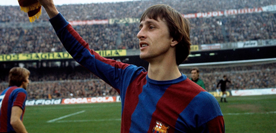 The (sadly) now late, great Johan Cruyff played an enormous part in shaping Barça into the club that we know today.
