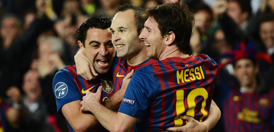 One of the most iconic trios in football history.