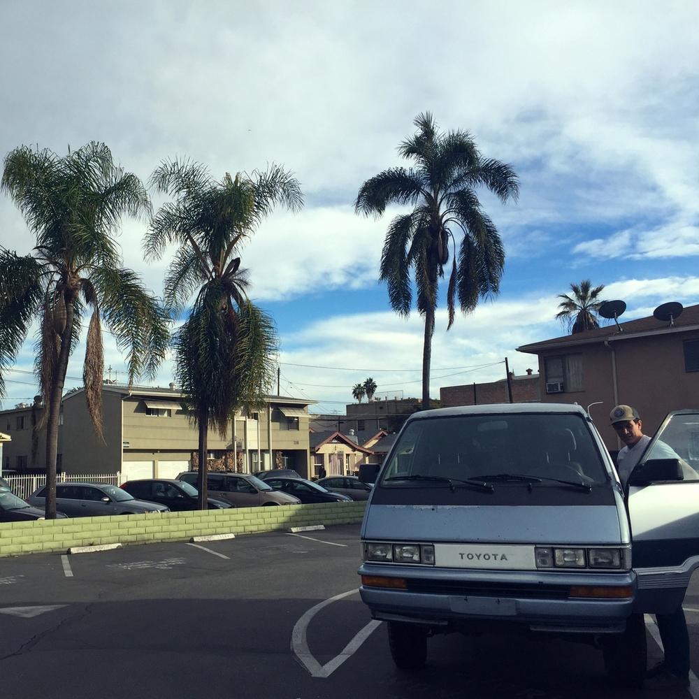 Van life in Long Beach