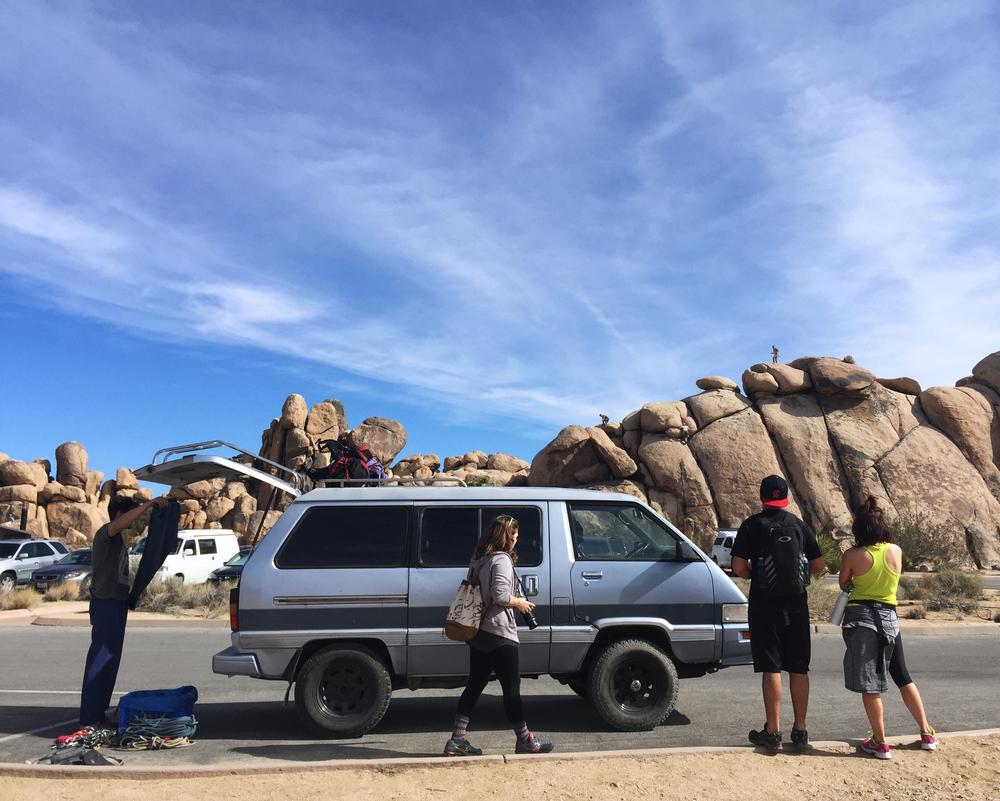 Van Life in Joshua Tree