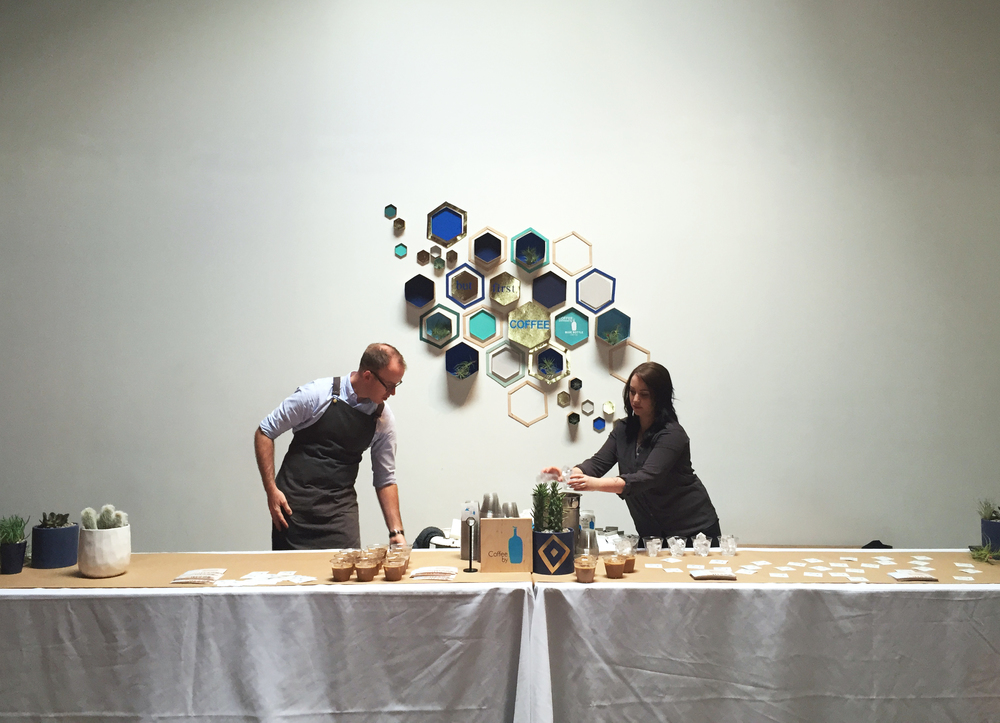 Blue Bottle at Create and Cultivate