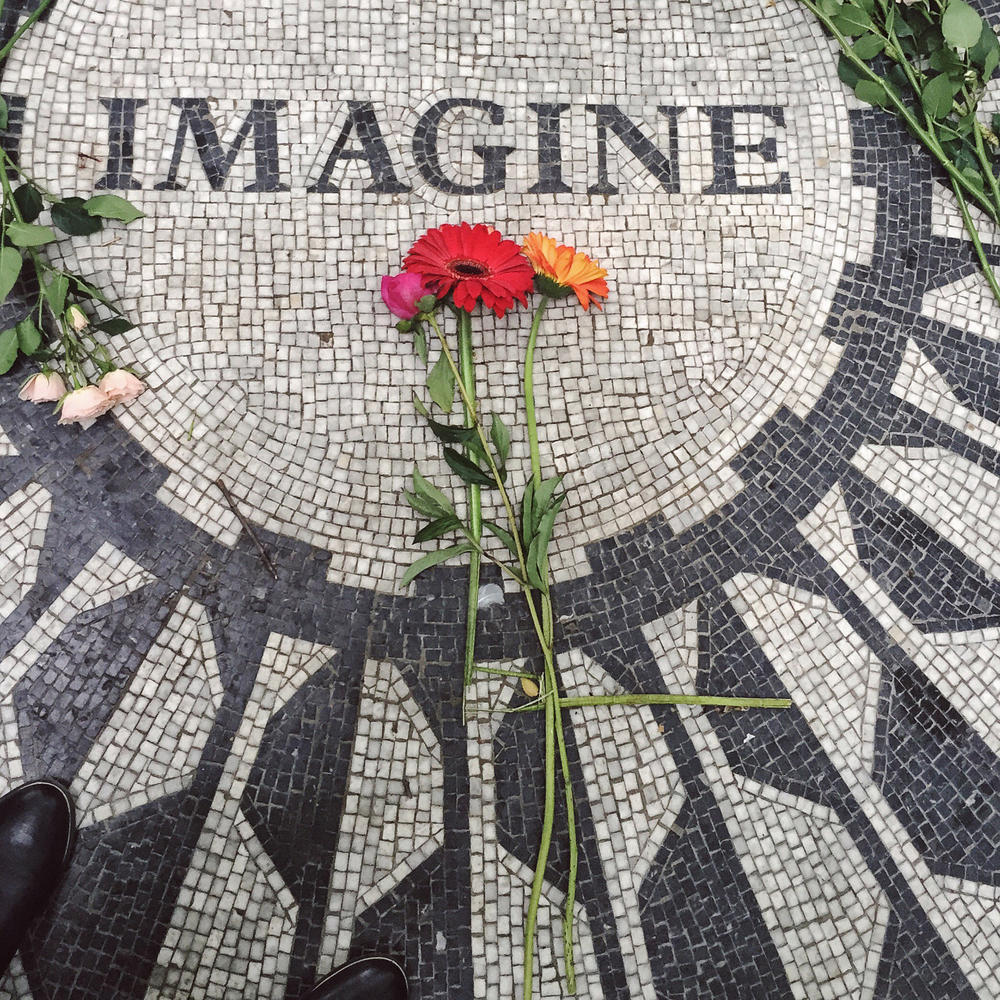 Strawberry Fields in NYC