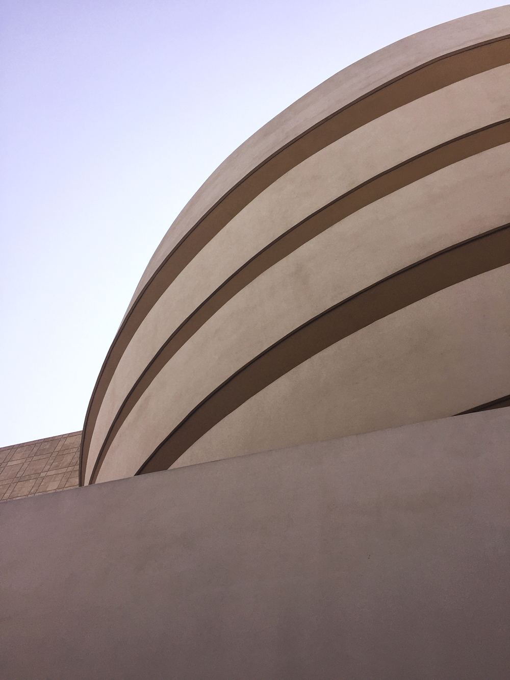 The Solomon R. Guggenheim museum in NYC
