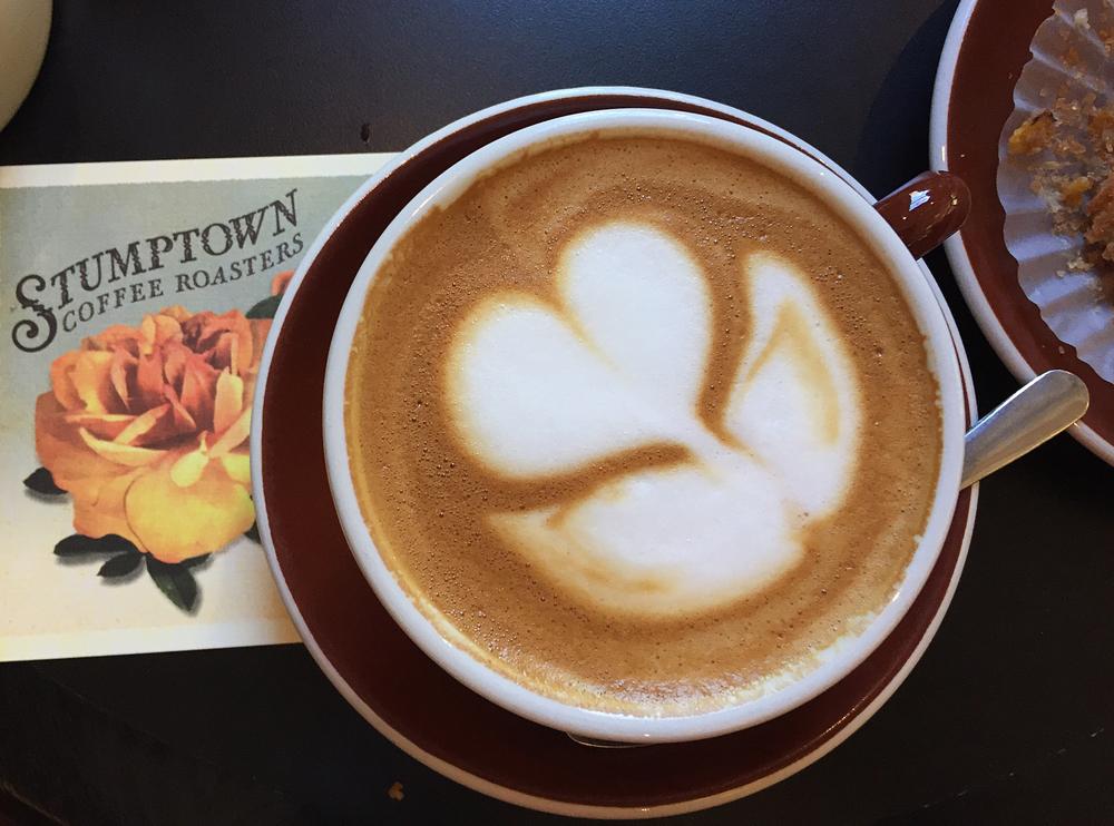 Stumptown Coffee in NYC