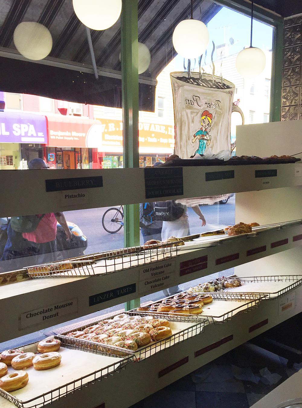 Peter Pan Donuts in Brooklyn, NY