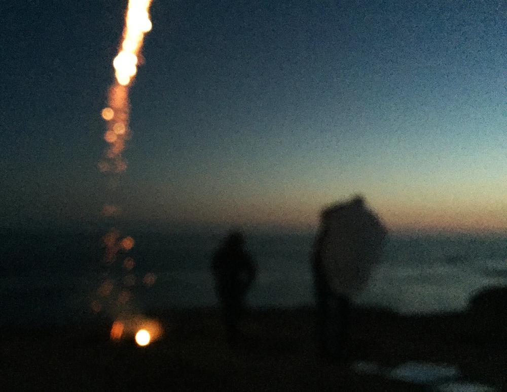 Fireworks in Rosarito, Mexico