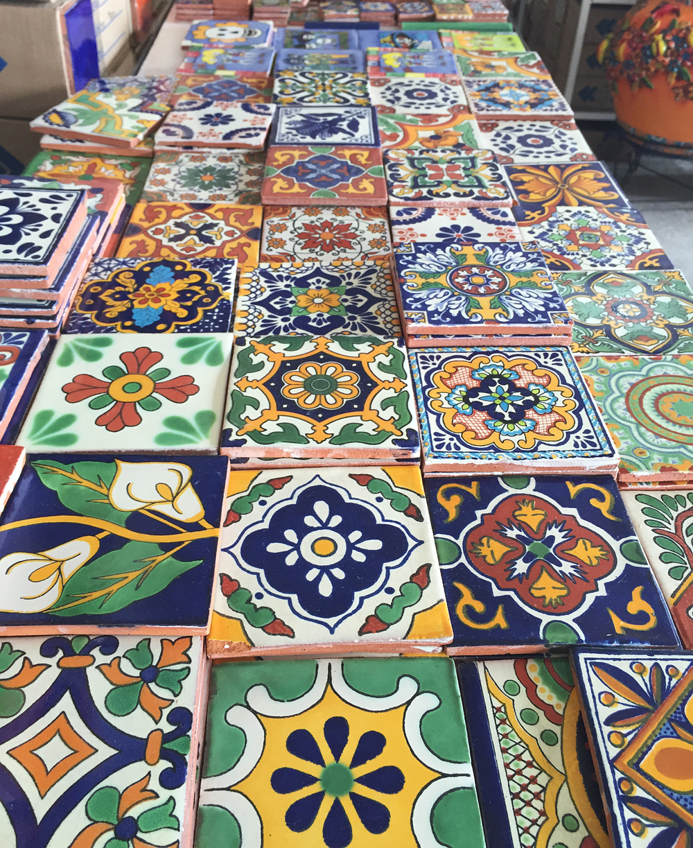 Tile Shopping in Rosarito, Mexico