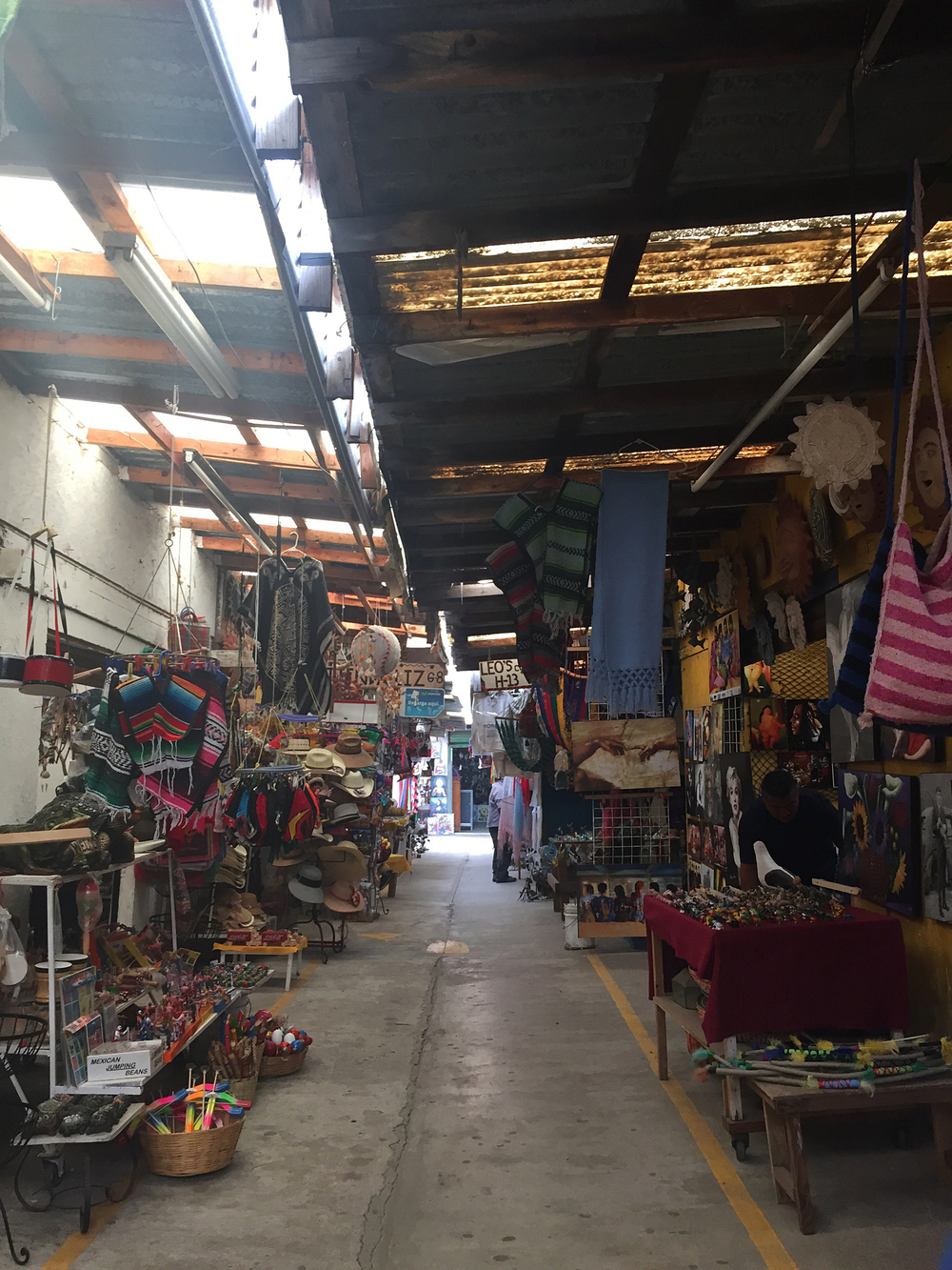 Shopping in Rosarito, Mexico