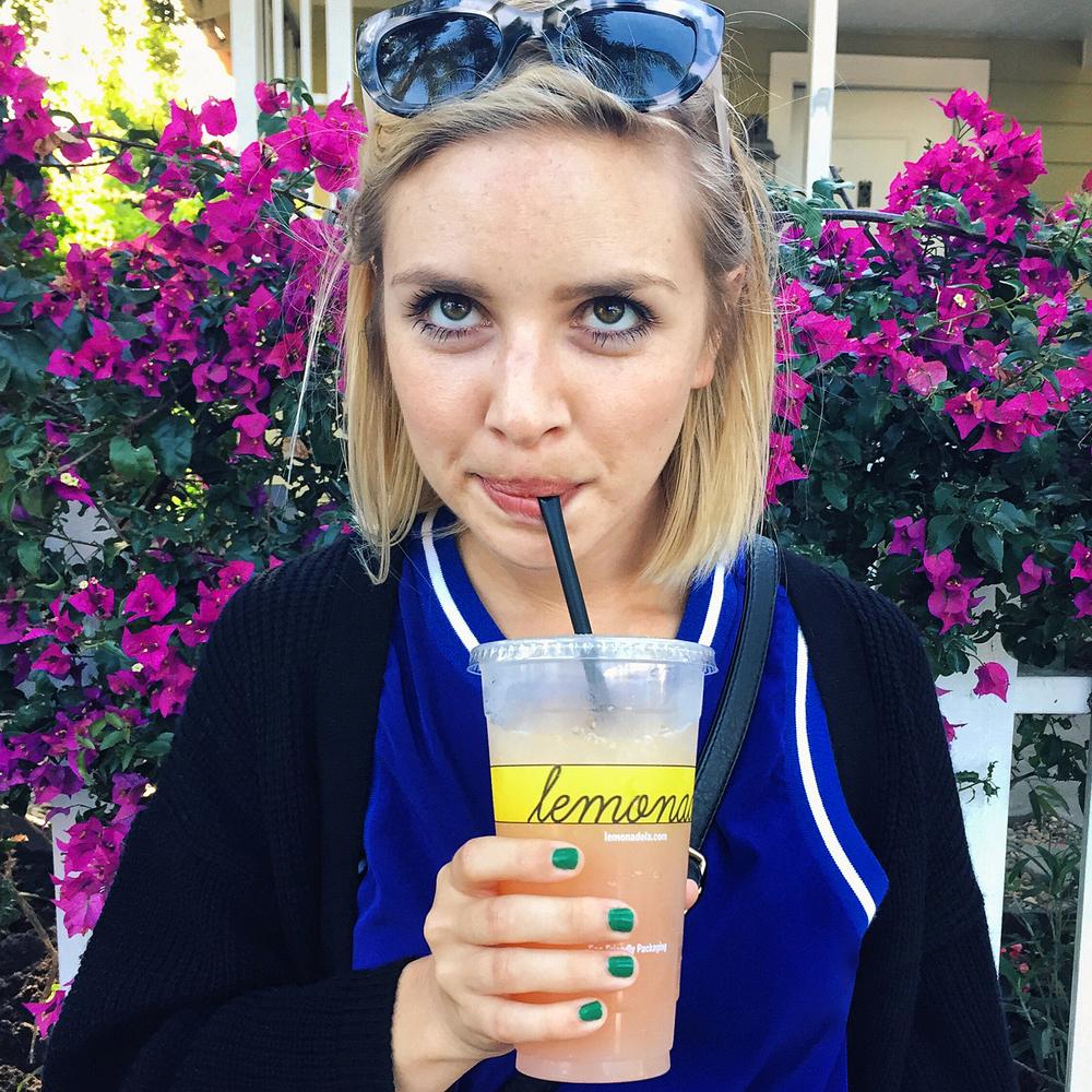 Lemonade in Venice Beach, CA