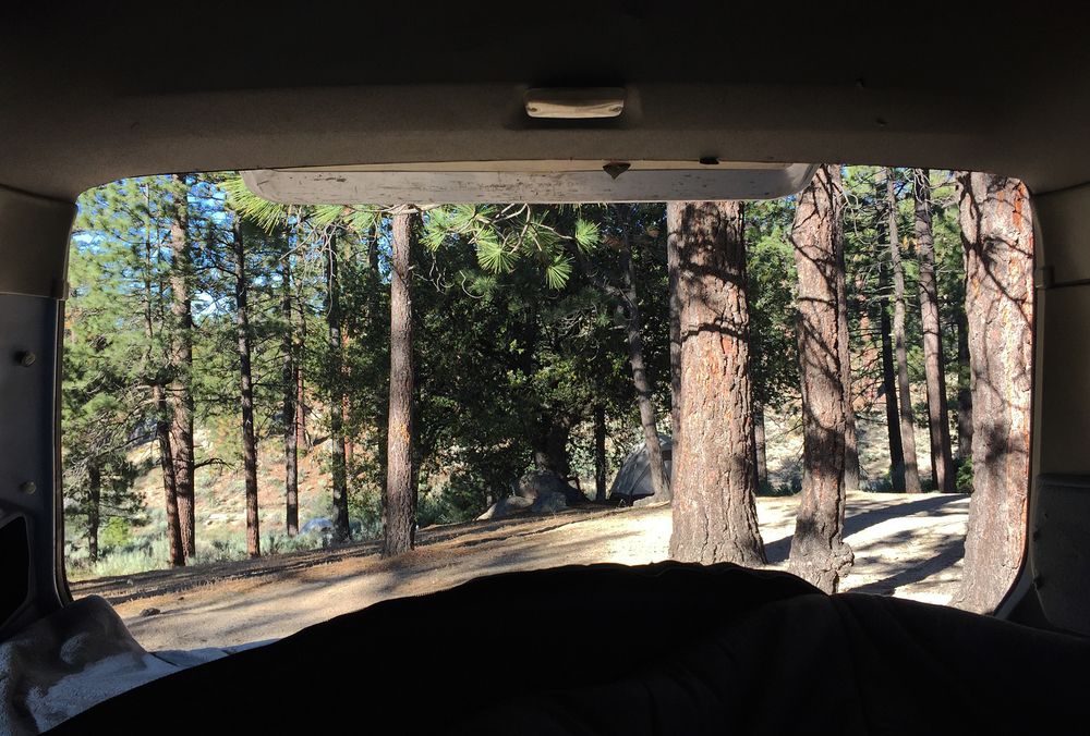 Van Life in Horse Flats Campground in the Angeles National Forest