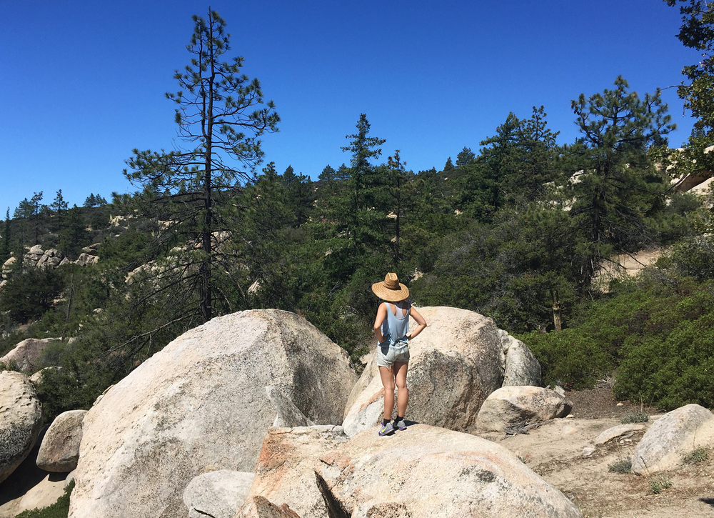Horse Flats Campground in the Angeles National Forest